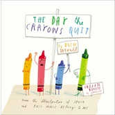 The Day the Crayons Quit, by Drew Daywalt & Oliver Jeffers, Hardcover