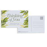 Broadman Church Supplies, Philippians 1:3, Thinking Of You Postcards, 5 1/2 x 3 1/2 inches, Set of 25