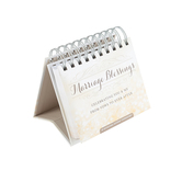 DaySpring, Marriage Blessings Perpetual Calendar, Paper, 5 1/4 x 4 3/4 inches