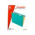 Pendaflex, Letter Size Hanging File Folders, Aqua, 25 Box