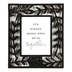 Designs Direct Creative Group, Better Together Tabletop Plaque, MDF, Black, 14 x 12 inches