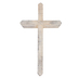 Have Faith Table Cross, Wood, Whitewash, 10 x 5 5/8 x 1 5/8 inches