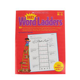 Scholastic, Daily Word Ladders Workbook, Reproducible Paperback, 96 Pages, Grades K-1