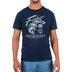 Kerusso, Matthew 4:19 Fisher Of Men, Men's Short Sleeve T-shirt, Navy, Small