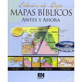 Mapas Biblicos Antes y Ahora: Edicion de Lujo, by B&H Espanol, Hardcover