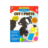 Thinking Kids, Big Skills for Little Hands Cut & Paste Workbook, Paperback, 192 Pages, Grades PreK-K