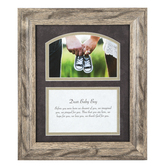Carson Home Accents, Baby Boy Framed Prayer, PVC, 12 x 10 Inches