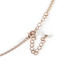 By His Grace, Light of the World Necklace, Brass and Iron and Zinc Alloy, Rose Gold, 24 Inch Chain
