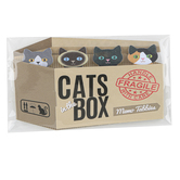 Streamline Importing Inc, Cats in the Box Memo Tabs, Paper, Multi-Colored, 4 Count