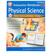 Carson-Dellosa, Interactive Notebook Physical Science Resource Book, 64 Pages, Grades 5-8 and up