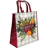 Renewing Faith, Its The Most Blessed Time Of The Year Large Tote Bag