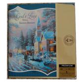 DaySpring, Thomas Kinkade, John 10:10 God's Love Boxed Christmas Cards, 5 1/16 x 7 3/4 inches, 18 cards