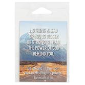 Faithworks, Ephesians 6:10 Nothing Is Bigger Magnet, 2 1/2 x 3 1/4 inches