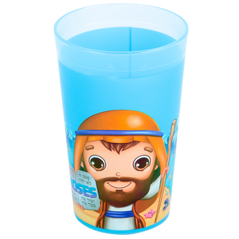 He Loves Me, Moses Cup, Polypropylene, 4 1/4 inches