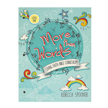 Master Books, More Than Words Living Faith Bible Curriculum Level One, Paperback, Grades K-3