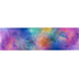 Retro Chic Collection, Watercolor Circles Wide Trimmer, 38 Feet, Ombre of Colors