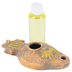 Holy Land Gifts, Lion of Judah Oil Lamp, 5 1/2 x 1 1/4 inches