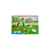Melissa & Doug, Old MacDonald's Farm Sound Wooden Puzzle, Ages 2 Years and Older,  8 Pieces