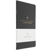 ESV Scripture Journal: 1 Corinthians, Paperback, Black