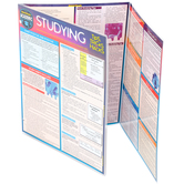 BarCharts Inc, Studying Tips, Tricks and Hacks, Quick Study Academic Guide, Laminated, Grades K-Adult