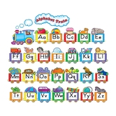 Teacher Created Resources, Alphabet Train Bulletin Board, 31 PIeces