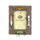 Fishing Lure Photo Frame, 5 x 7 inches