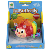 The Learning Journey, Crawl About Butterfly, 6 1/4 inches, Ages 6 Months to 3 Years