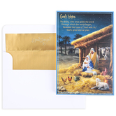 DaySpring, Christmas Story Boxed Cards, 18 Cards 19 Envelopes