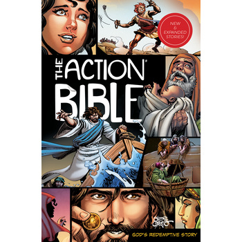 The Action Bible: God's Redemptive Story, by Sergio Cariello, Hardcover