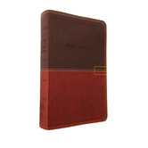 NKJV Know the Word Study Bible, Duo-Tone, Brown and Caramel