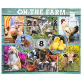 Ceaco, On the Farm Puzzles, Assorted Sizes