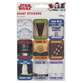 Eureka, Star Wars Super Troopers Motivational Giant Stickers, 1 5/16 x 1 3/4 Inches, Pack of 36