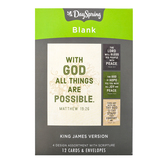 DaySpring, Blank KJV Encouragement Cards with Envelopes, 12 Cards
