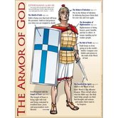 The Armor of God, by Rose Publishing, Wall Chart