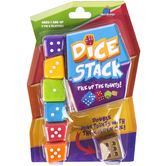 Blue Orange Games, Dice Stack Game, 9 Pieces, 1 to 6 Players, Ages 7 & Older