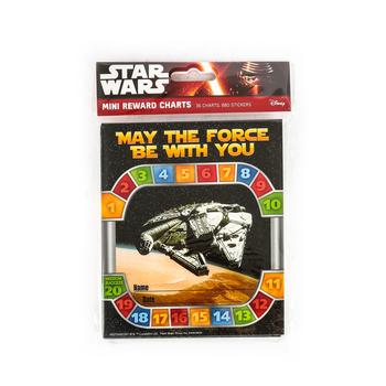 Eureka, Star Wars Mini Incentive Charts with Stickers, 4.75 x 6 Inches, 36 Charts