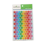 Renewing Minds, Sparkle Smiley Face Mini Incentive Stickers, Assorted-Colors, Pack of 1050