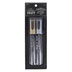 Gold and Silver Chalk Markers, 5mm Chisel Tip, 2-Pack