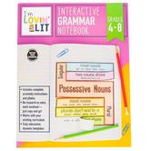 Carson-Dellosa, I'm Lovin' Lit Interactive Grammar Notebook Resource Book, Paperback, Grades 4-8
