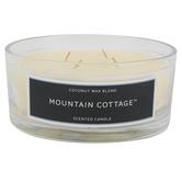 Mountain Cottage Jar Candle, Glass & Wax, 24 ounces