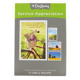 DaySpring, Blessed are the Servant Hearted Ministry Appreciation Cards, 12 Cards with Envelopes