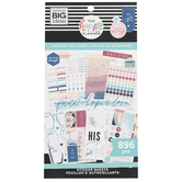 MAMBI, The Happy Planner Praise the Lord Planner Stickers, 896 Stickers