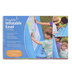 HearthSong, Double-Sided Inflatable Easel, 35 x 31 x 50 inches, Ages 3 and Older