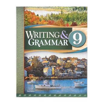 BJU Press, Writing & Grammar 9 Student Text, 3rd Edition, Paperback, Grade 9