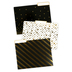 Glimmer of Gold Collection, File Folders, 11 x 8.5 Inches, Assorted Designs, 12 Count