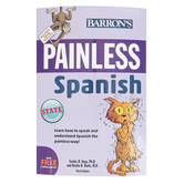 Barron's, Painless Spanish 3rd Edition, by Davis and Vega, Paperback, 318 Pages, Grades 7-Adult