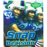 Snap Decision, Game Face Series, Book 1, by Nathan Whitaker, Paperback