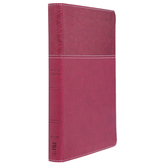 NASB 20 Thinline Bible, Large Print, Imitation Leather, Multiple Colors Available