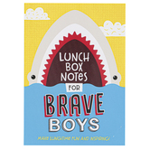 Barbour Books, Lunch Box Notes for Brave Boys, 6 x 4 1/4 Inches, 96 Count
