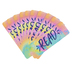 Retro Chic Collection, Read Bookmarks, Multi-Colored, 2 x 6 inches, Pack of 36
